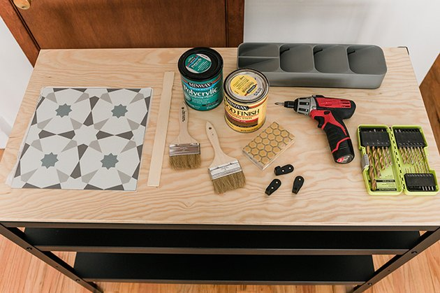 Here's what you'll need to turn your work bench into a kitchen organizer