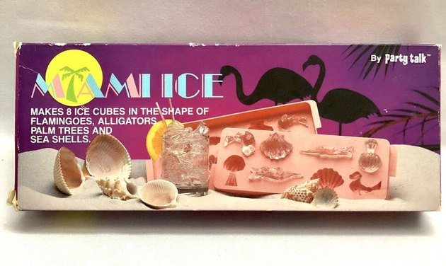 """Miami Ice"" Ice Cube Tray, $20"