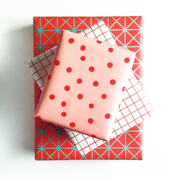 Mellowworks Modern Wrapping Trio (1 sheet of each pattern), $16