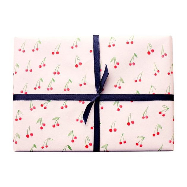 cherry wrapping paper