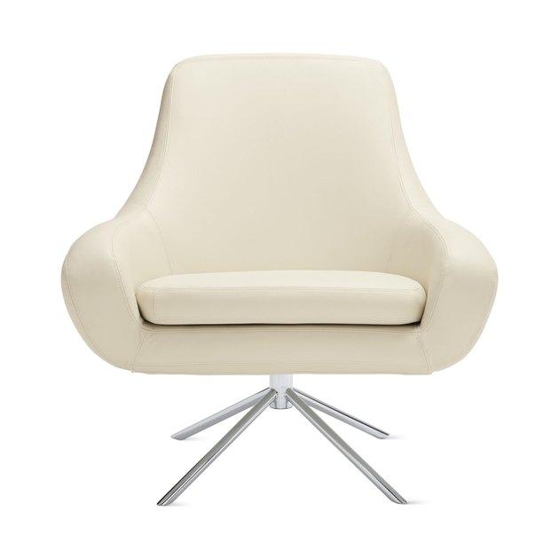 ivory swivel chair