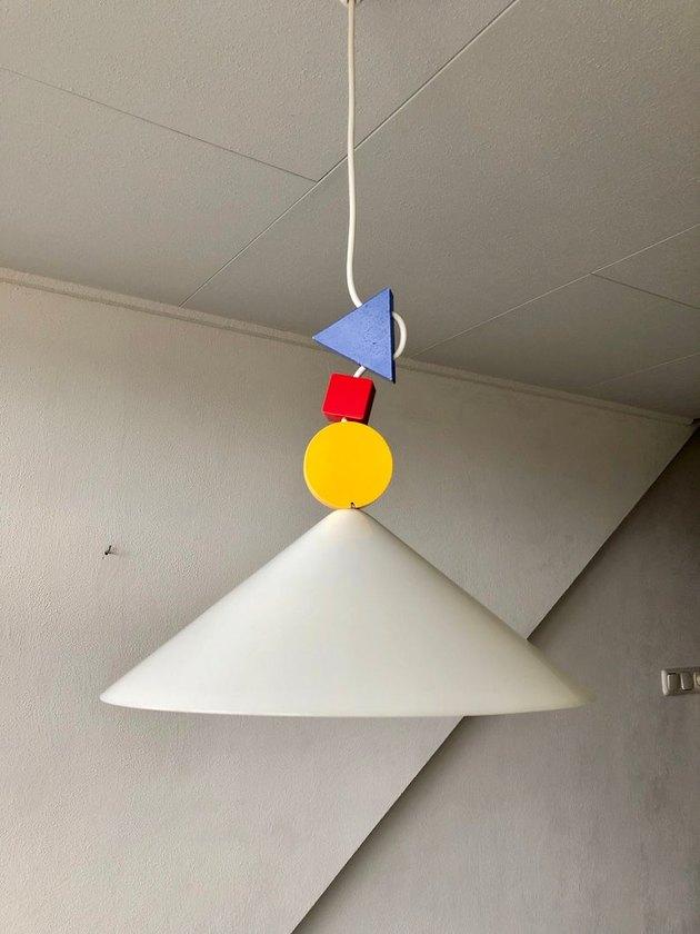 1980s Ettore Sottsass for IKEA Pendant, $109.75