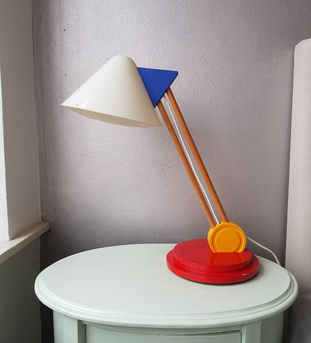 1980s Ettore Sottsass for IKEA Lamp, $202.17