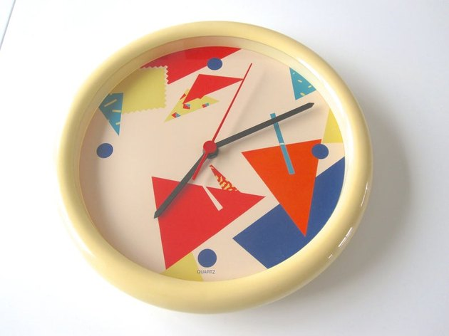 1980s IKEA Wall Clock, $95