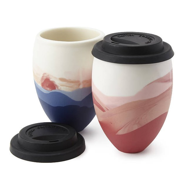 Jessica Rust Handmade To-Go Cup, $32