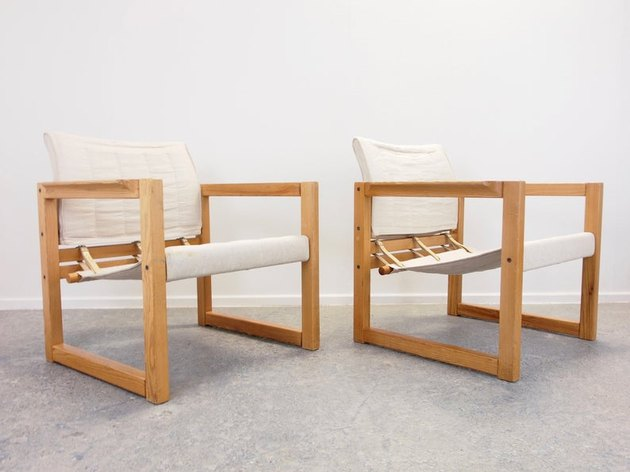 1970s Karin Mobring for IKEA Pine Chairs, $749.77