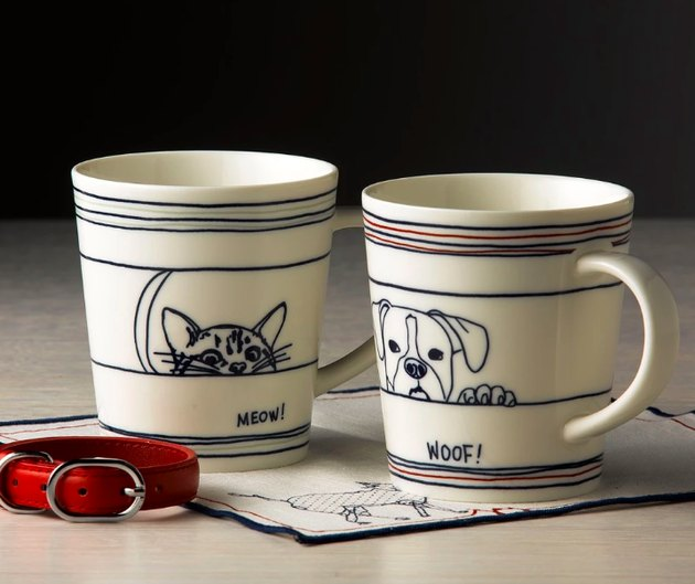 Ellen DeGeneres Crafted by Royal Doulton Dinnerware Cat or Dog Mug, $9.99