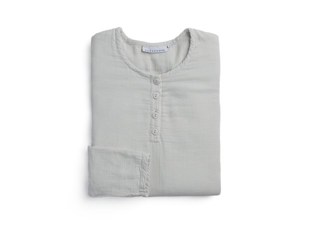 light gray sleep shirt
