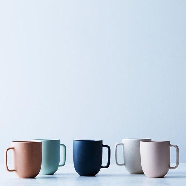 Pigeon Toe Matte Ceramic Mug, $42