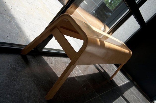 1990s IKEA Plywood Bench, $485.21