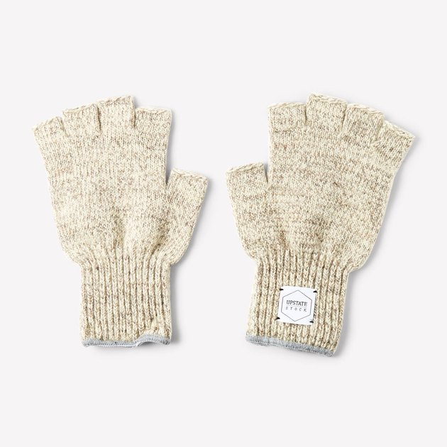 Upstate Stock Fingerless Gloves, $29