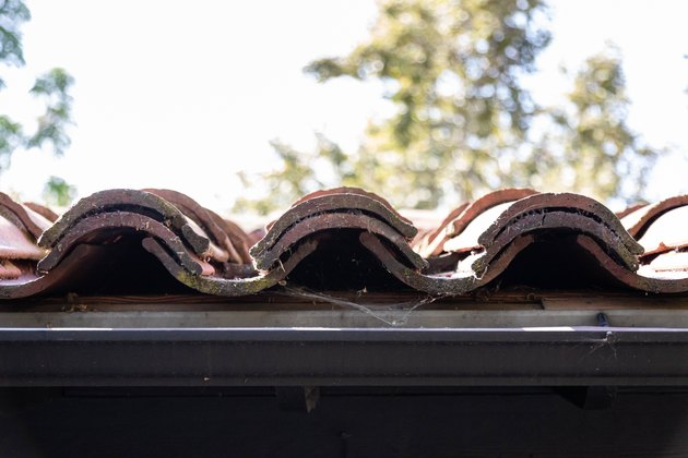 spanish-style roof tiles
