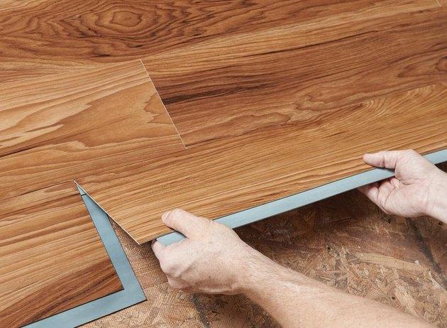 vinyl plank installation