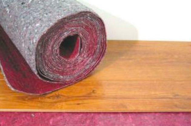 Laminate flooring underpadding.