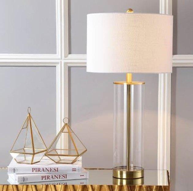 jonathan y glass table lamp
