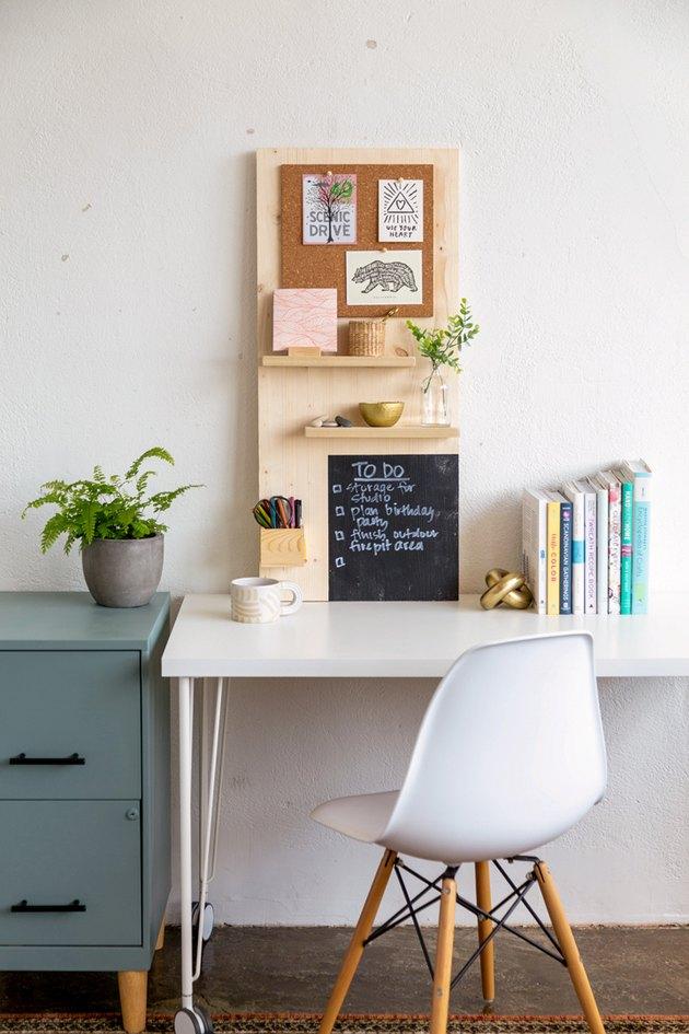 How to make a Modern Wall Organizer