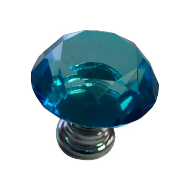 Beauty Acrylic Blue Cabinet Door Knob (2), $6.12
