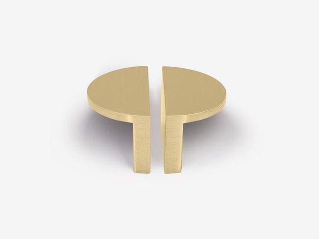 Park Studio x Sarah Sherman Samuel Mini Half Moon Brass Hardware (2), $33