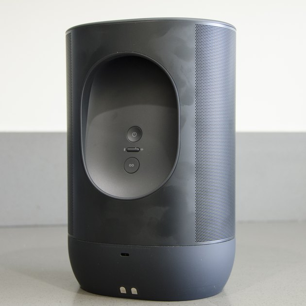 The rear of the Sonos Move portable speaker