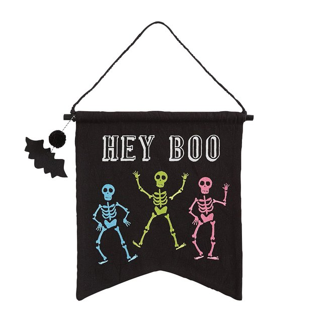 Pier1 Hey Boo Halloween Wall Hanger