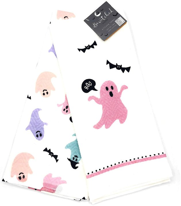 bewitched home dishtowels