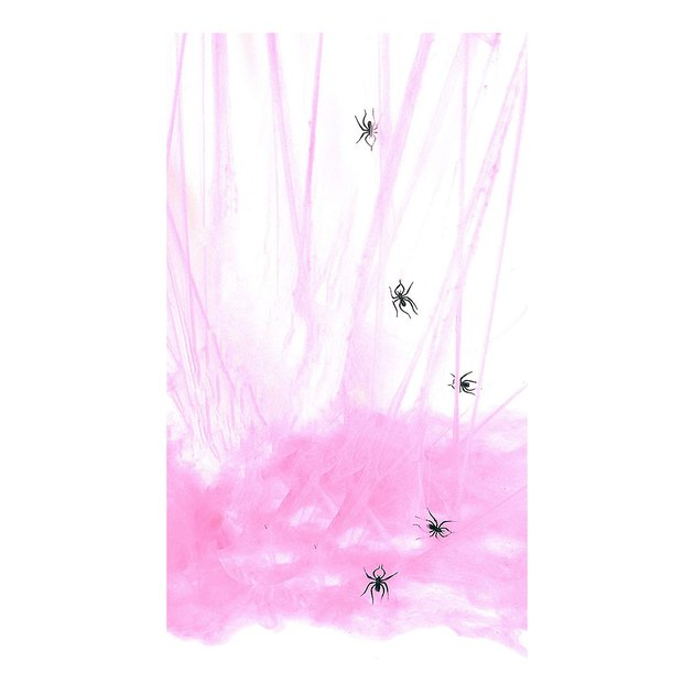 rubie's large pink spider web