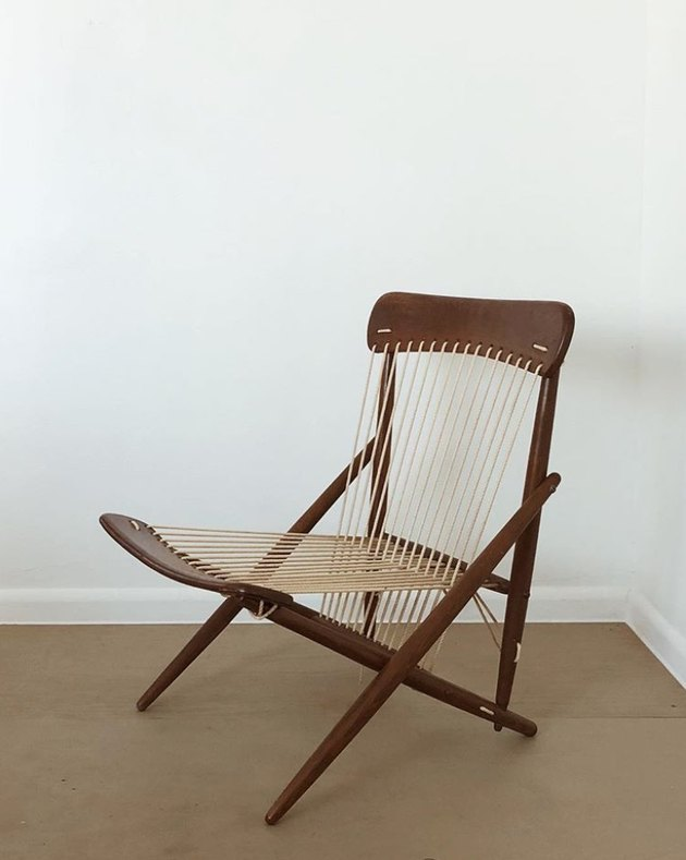 1950s rope chair