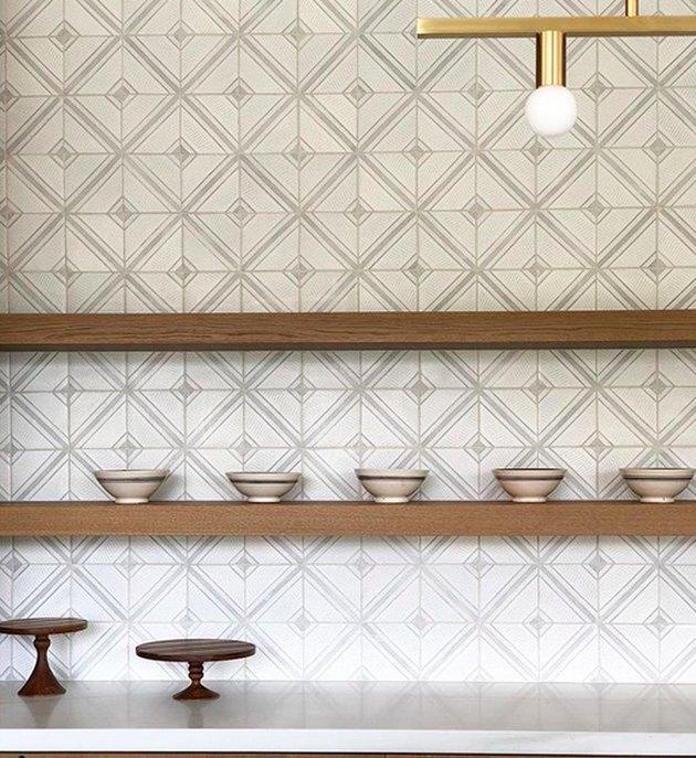 Tabarka Studio Ceramic Tile Kitchen Backsplash