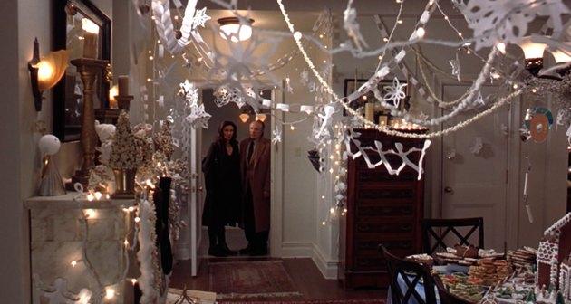 elf holiday movie decor