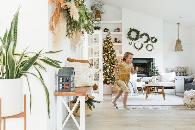 kid-proof holiday decor