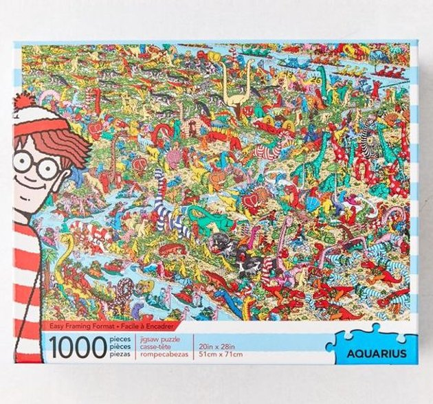 Where's Waldo 1,000 Piece Puzzle, $16