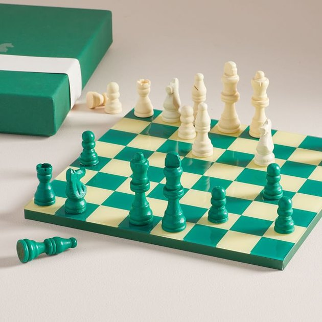 West Elm Chess Coffee Table Set, $50