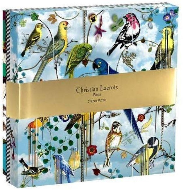 Christian Lacroix Two-Sided Puzzle, $35
