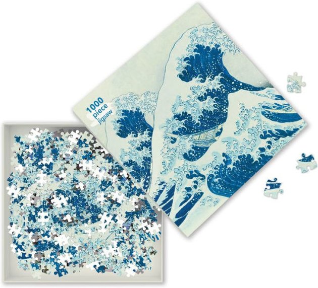 Hokusai Great Wave 1,000 Piece Puzzle, $14.95