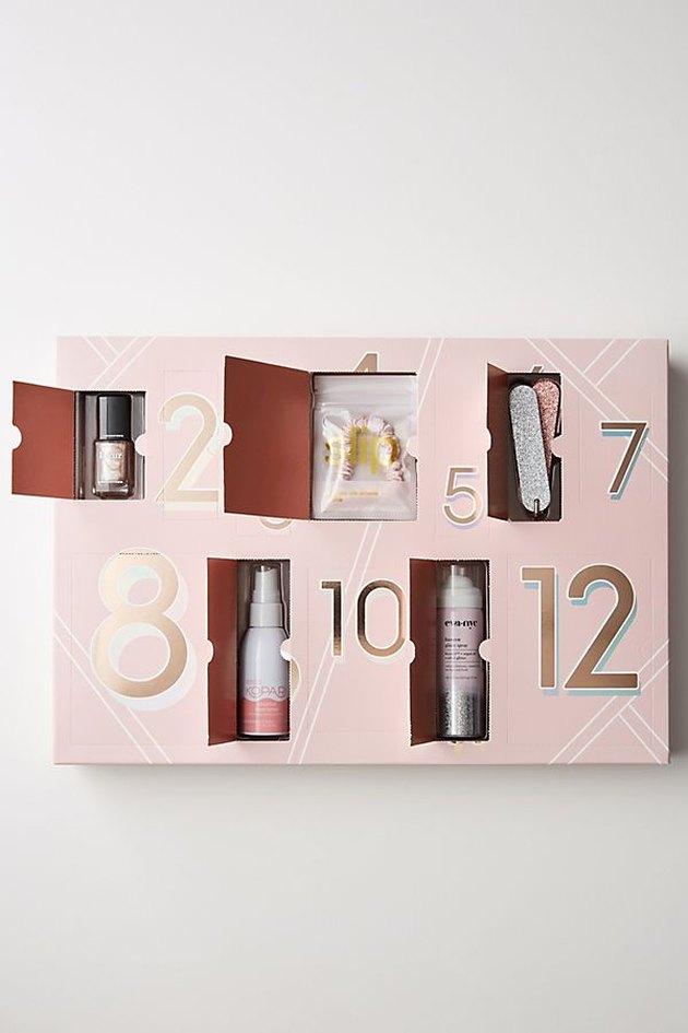 12-biece beauty prep advent calendar