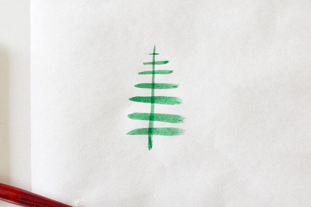 Paint horizontal lines