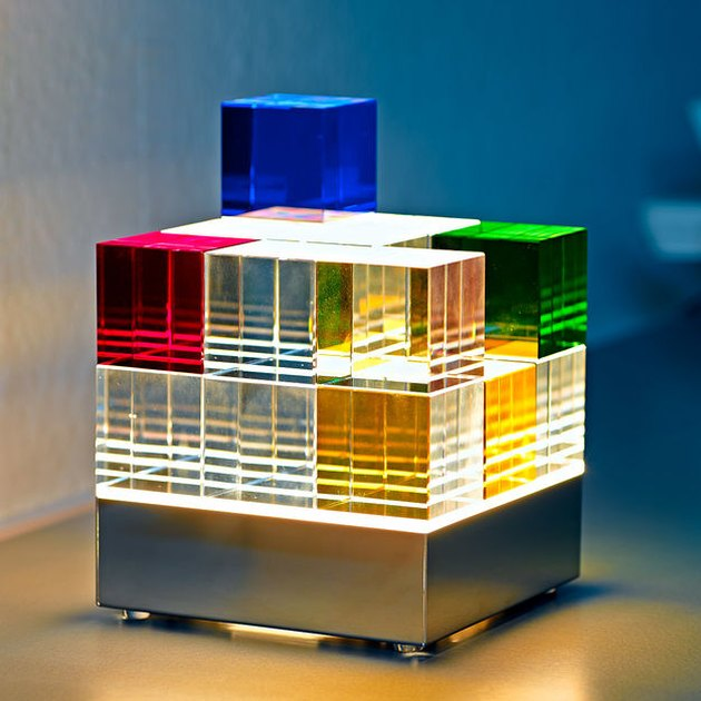 Mathias Schifferdecker Cube Lamp, $950