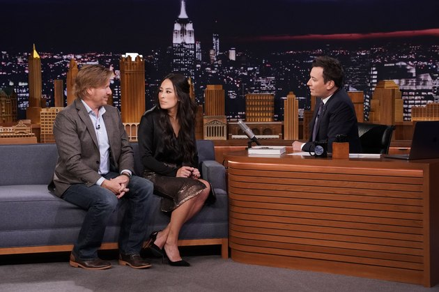 chip and joanna gaines on fallon