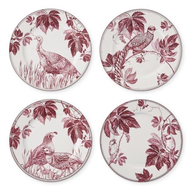 porcelain salad plates