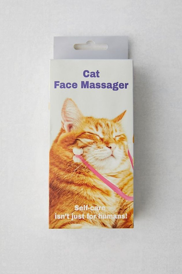 cat face massager box