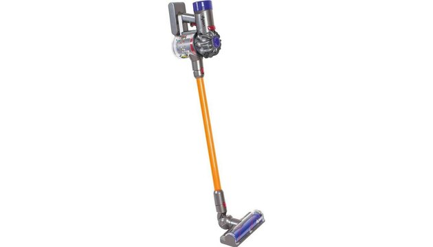 Dyson Cord-Free Toy Vacuum in Yellow and Purple