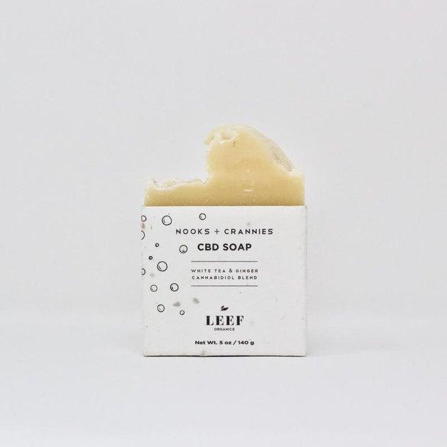 Leef Organics Nooks + Crannies CBD Soap