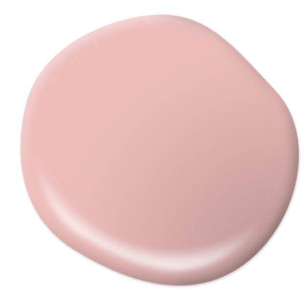 pink paint drop