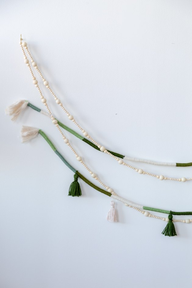 Boho Holiday Rope and Tassel Garland DIY