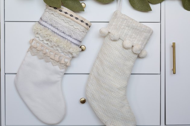 Boho Stocking DIY