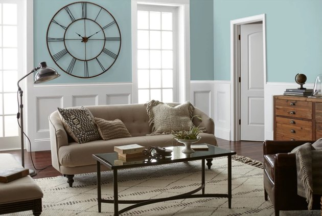 magnolia it is well paint color, still image of living room
