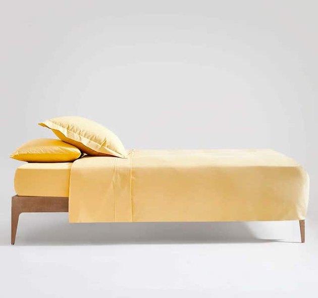 yellow duvet cover