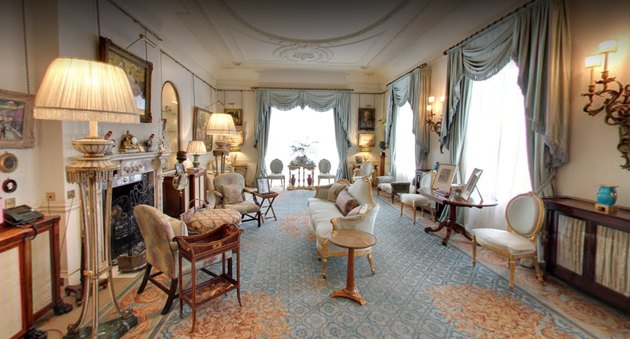 Morning Room at Clarence House