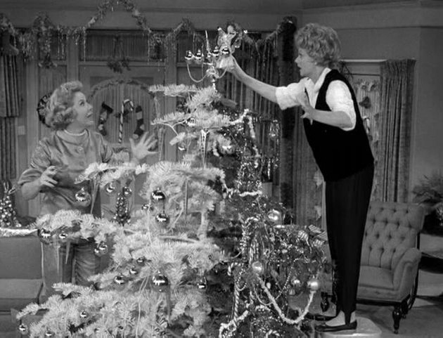 The Lucy Show christmas tree