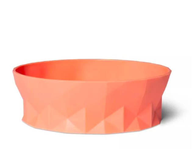 orange cat bowl